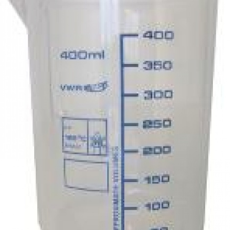 Becher plastique TPX  -  100 ml