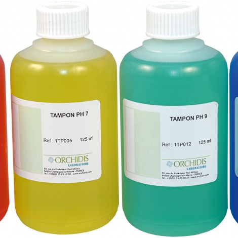 Tampon pH 4  -  125 ml